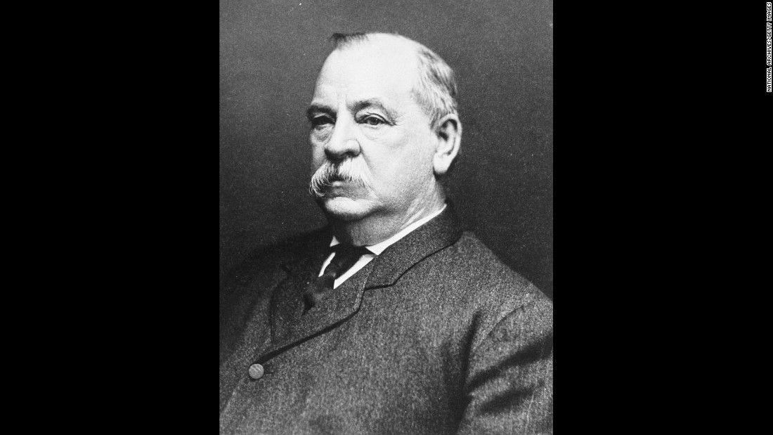 President Grover Cleveland (1837-1908) was indisposed due to a toothache, he told the public. After he died, historians learned that he secretly had surgery for oral cancer, a procedure considered incredibly dangerous at the time.