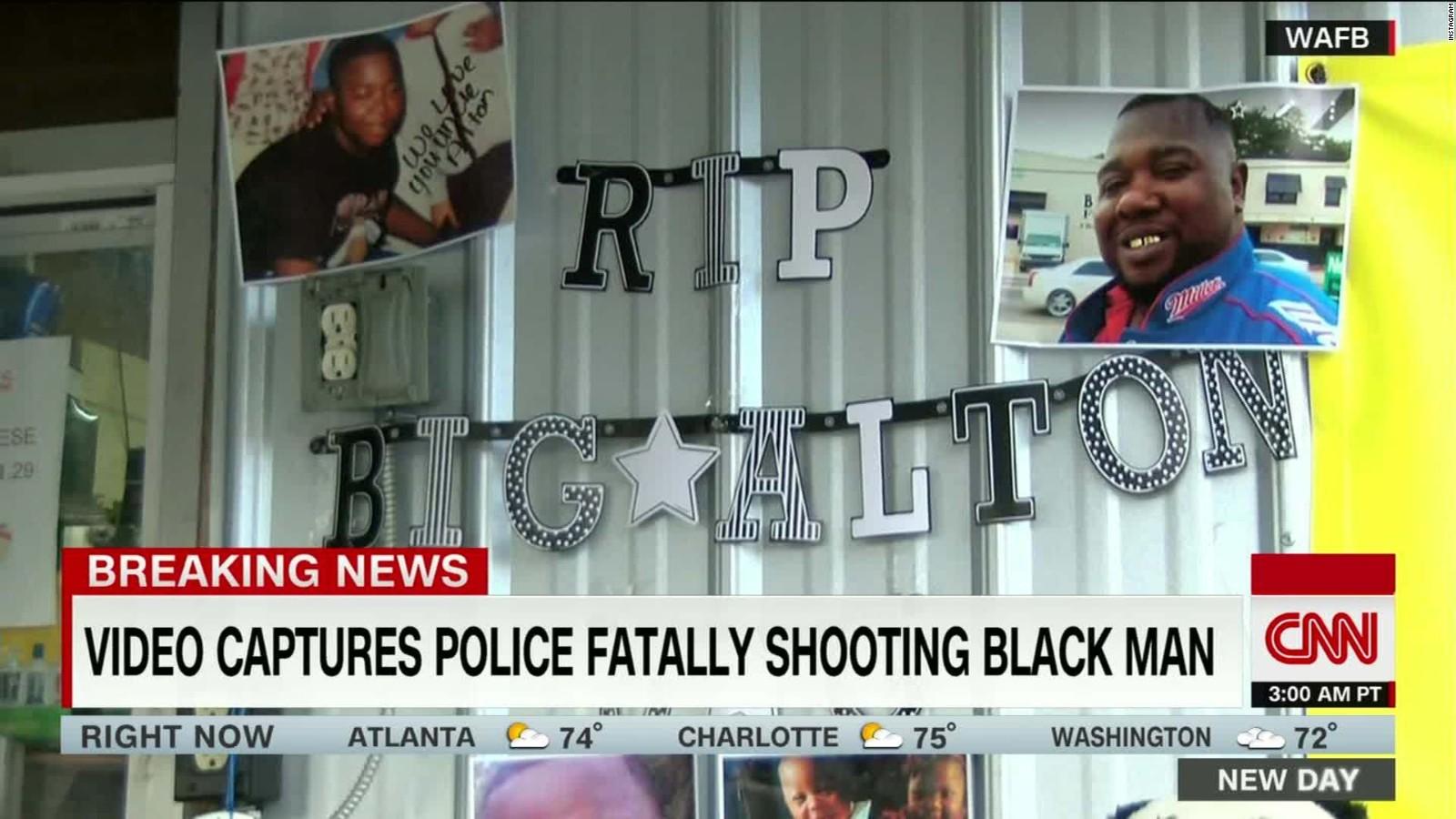 Alton Sterling shooting: Homeless man made 911 call, source