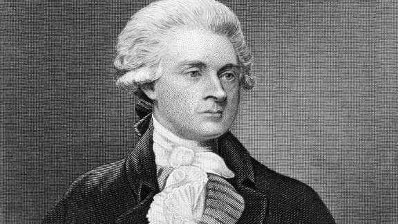 Thomas Jefferson is best known as the author of the Declaration of Independence and the third US president.