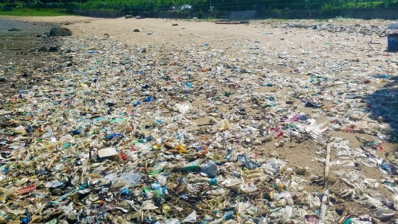"""Environmentalists say the amount of trash is """"unprecedented."""""""