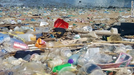 'Unprecedented': Trash from China swamps Hong Kong beaches