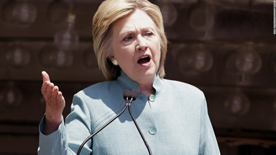 Hillary Clinton: The shooting of Alton Sterling a 'tragedy', calls