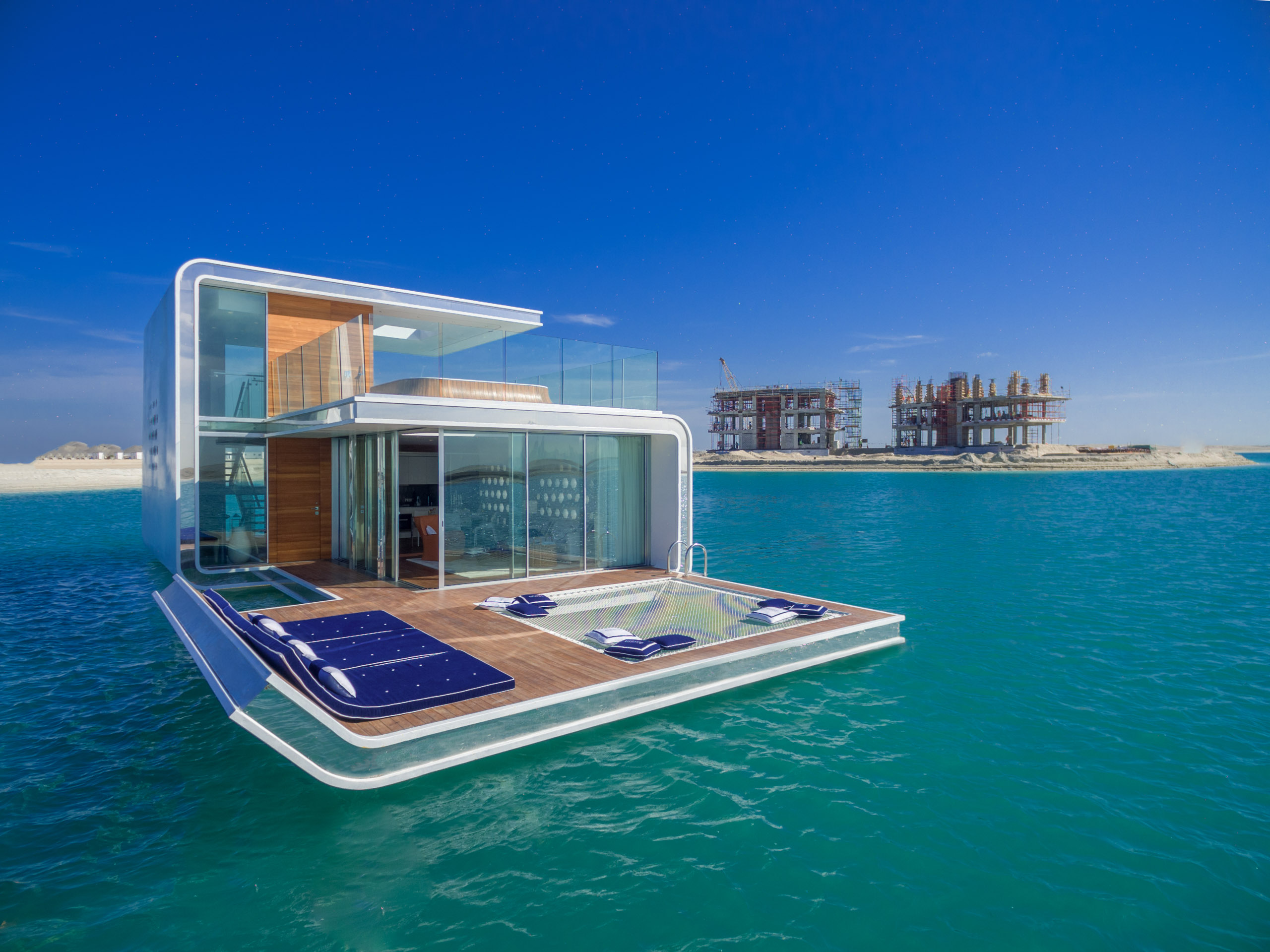 Next Level Underwater Villas Are Making Waves