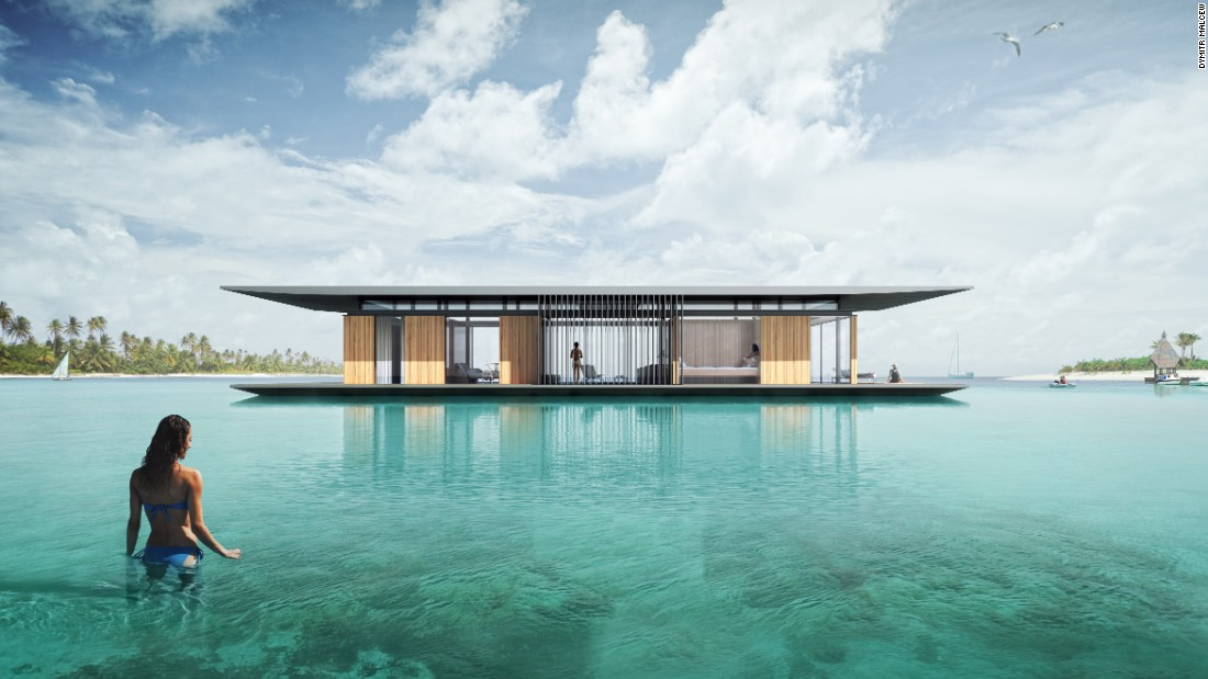 Next Level Underwater Villas Are Making Waves   CNN Style