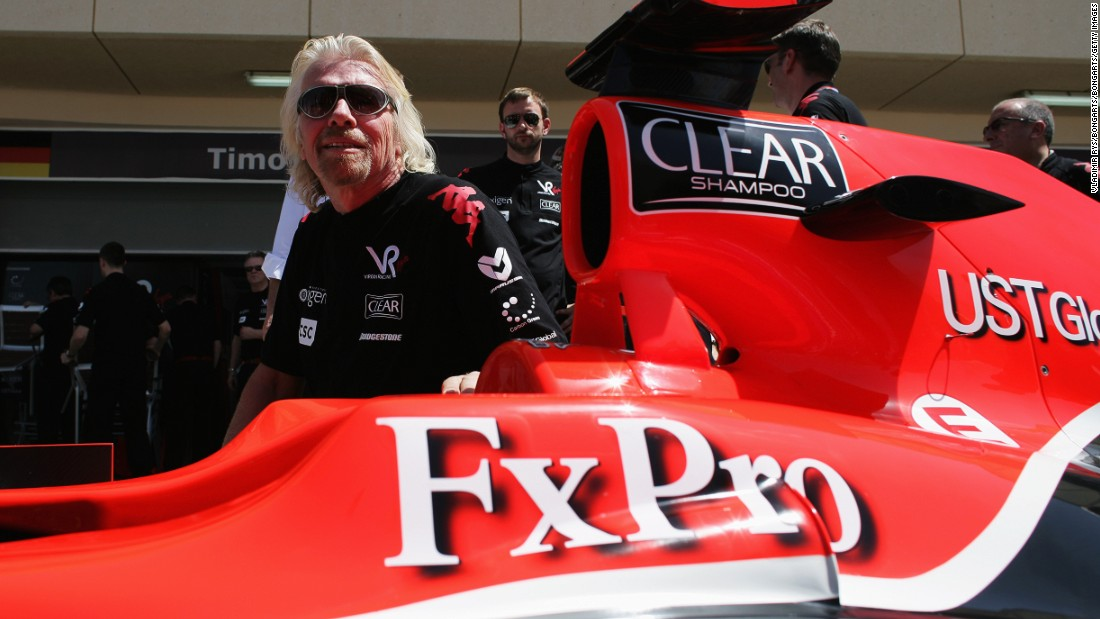 Formula E isn't Branson's first foray into top level motorsport. In 2010, Virgin Racing competed in the Formula One world championship.