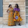 Zuvva dresses african fashion pair