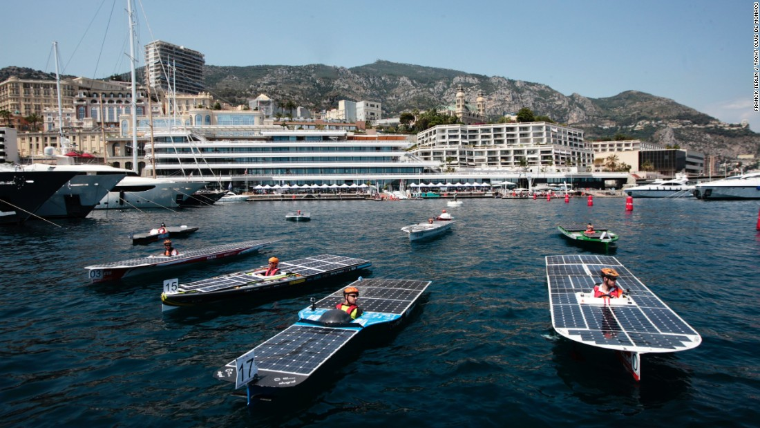 Featuring boats powered solely by solar panels, the event attempts to start paving the way for a greener future in sailing.