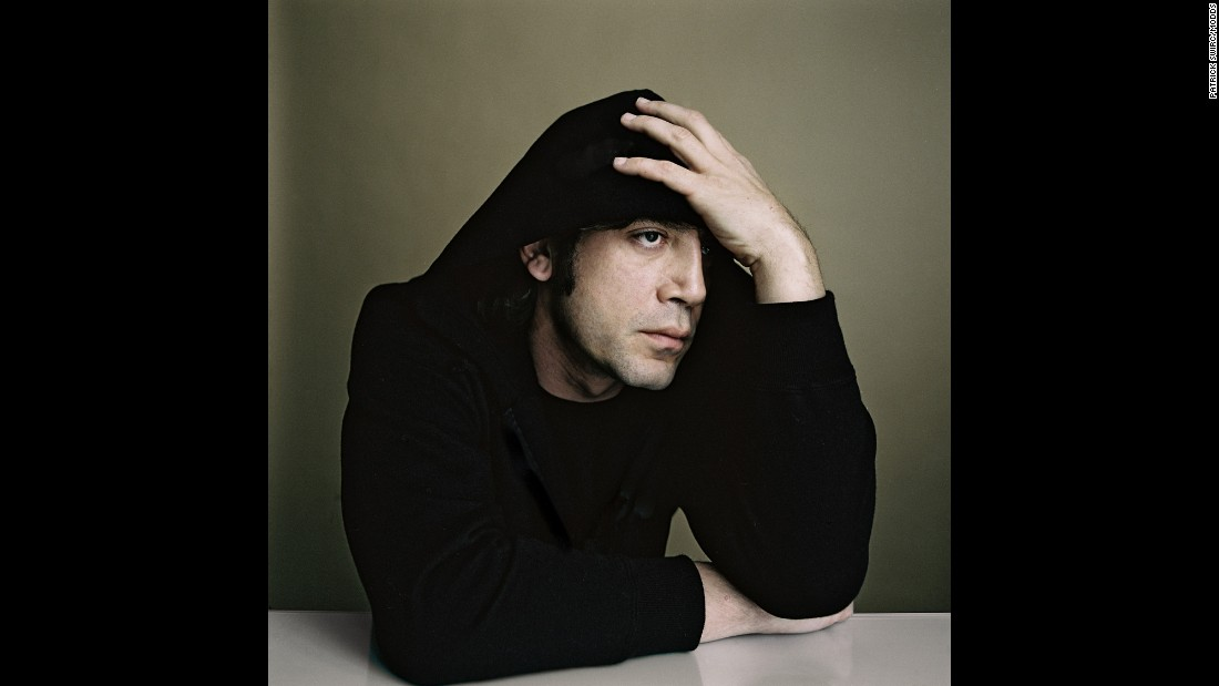 "Swirc shot actor Javier Bardem at the Cannes Film Festival in France. ""He has an incredible profile,"" Swirc said."