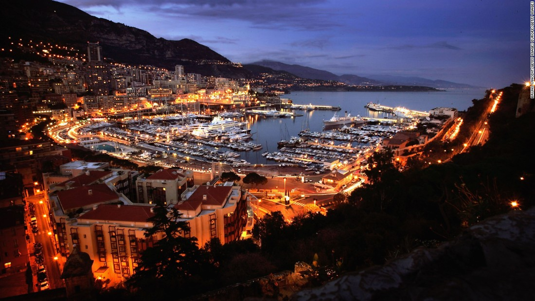 This year's event takes place in Monaco's picturesque Port Hercules.