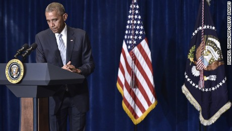 Barack Obama reacts to wave of police shootings
