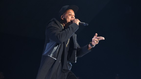 NEW YORK, NY - OCTOBER 20:  Rapper Jay-Z performs onstage during TIDAL X: 1020 Amplified by HTC at Barclays Center of Brooklyn on October 20, 2015 in New York City.  (Photo by Jamie McCarthy/Getty Images for TIDAL)