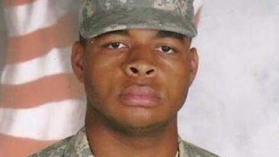 Micah Xavier Johnson in an Army uniform.