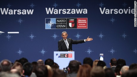 Obama visits Poland and Spain
