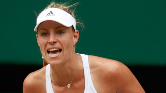 Kerber was full of confidence after beating Williams in the final of this year's Australian Open.