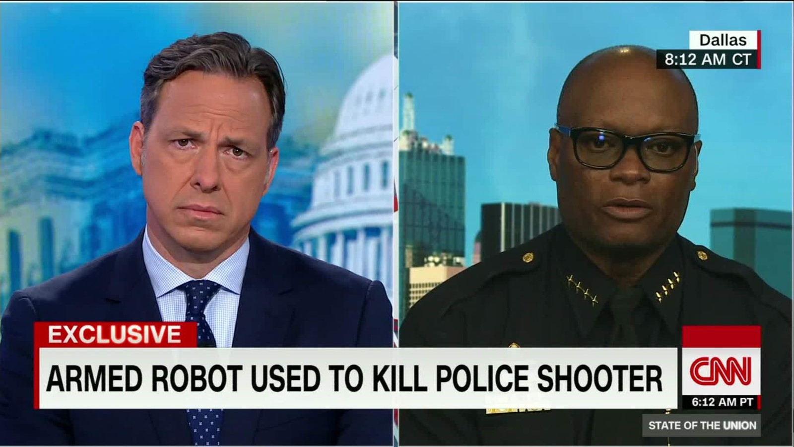 Dallas Police chief: Bomb robot saved lives