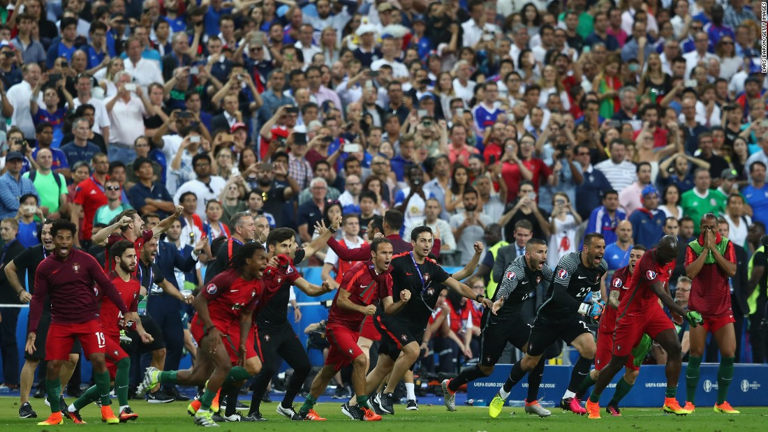 b0c69fa7f5d Portugal had only qualified for the knockout phase by coming third in its  group. Photos: Euro 2016 Finals: France Portugal