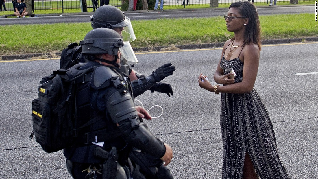 Baton Rouge protests: Photo everyone is talking about - CNN