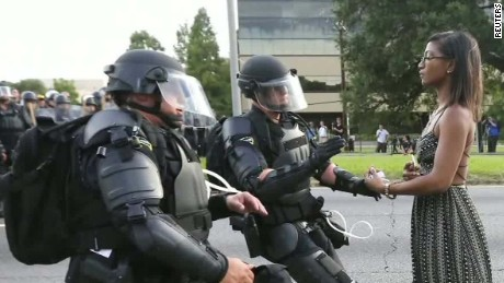 Protests lead to viral photo