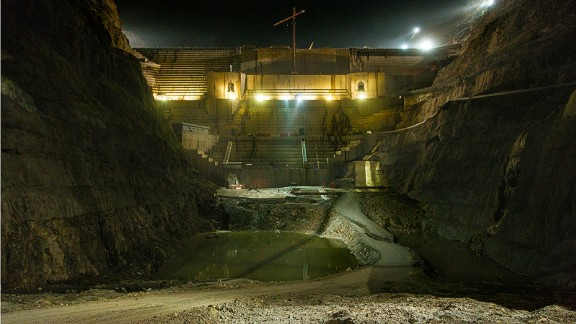 The project has started producing energy and with all turbines switched on, it will have an outgoing power capacity of 1,870 megawatts -- according to the Italian company, Salini Impregilo, which is building the dam on behalf of Ethiopian Electric Power.