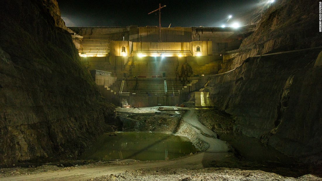 "The project has started producing energy and with all turbines switched on, it will have an outgoing power capacity of 1,870 megawatts -- according to the Italian company, <a href=""http://www.salini-impregilo.com/en/projects/in-progress/dams-hydroelectric-plants-hydraulic-works/gibe-iii-hydroelectric-project.html"" target=""_blank"">Salini Impregilo,</a> which is building the dam on behalf of Ethiopian Electric Power."