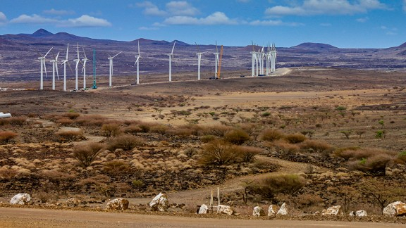 The 310 MW Lake Turkana Wind Power Project, which is being developed in the country's North-East, will cover 40,000 acres. The 70 billion Kenyan Shillings ($690 million) project is the largest private investment in Kenya's history, according to the developers.