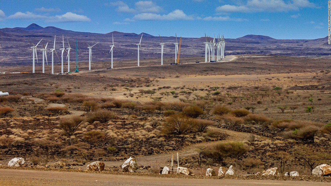 "The 310 MW <a href=""http://ltwp.co.ke/overview-2/"" target=""_blank"">Lake Turkana Wind Power Project,</a> which is being developed in the country's North-East, will cover 40,000 acres. The 70 billion Kenyan Shillings ($690 million) project is the largest private investment in Kenya's history, according to the developers."