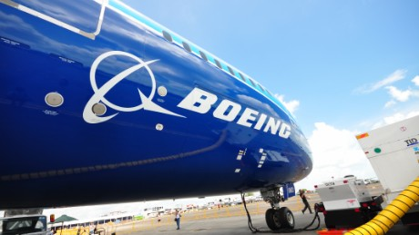 Iran says it's reached a deal to buy passenger aircraft from U.S. plane maker Boeing.