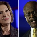 Carly Fiorina Herman Cain