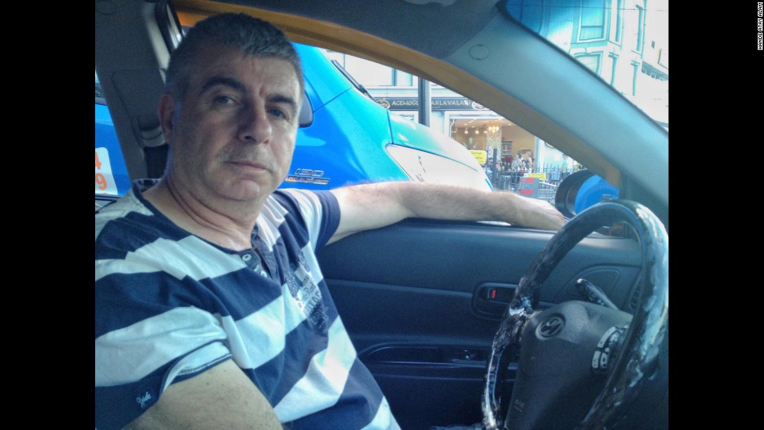 "Nazim Güvenç drives a taxi and has noticed a sharp drop in tourist numbers. ""We have no work. Tourists believe that ...Turkey will have many explosions back to back, so they are scared to come,"" he said."