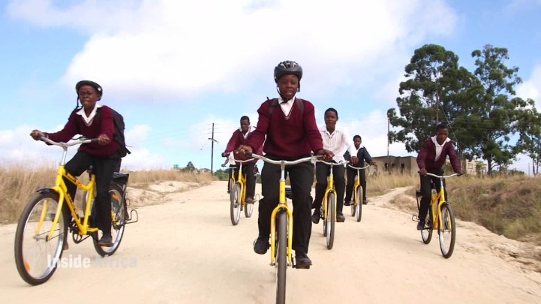 Cycling powers social change in rural South Africa