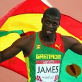 Kirani James Grenadian flag