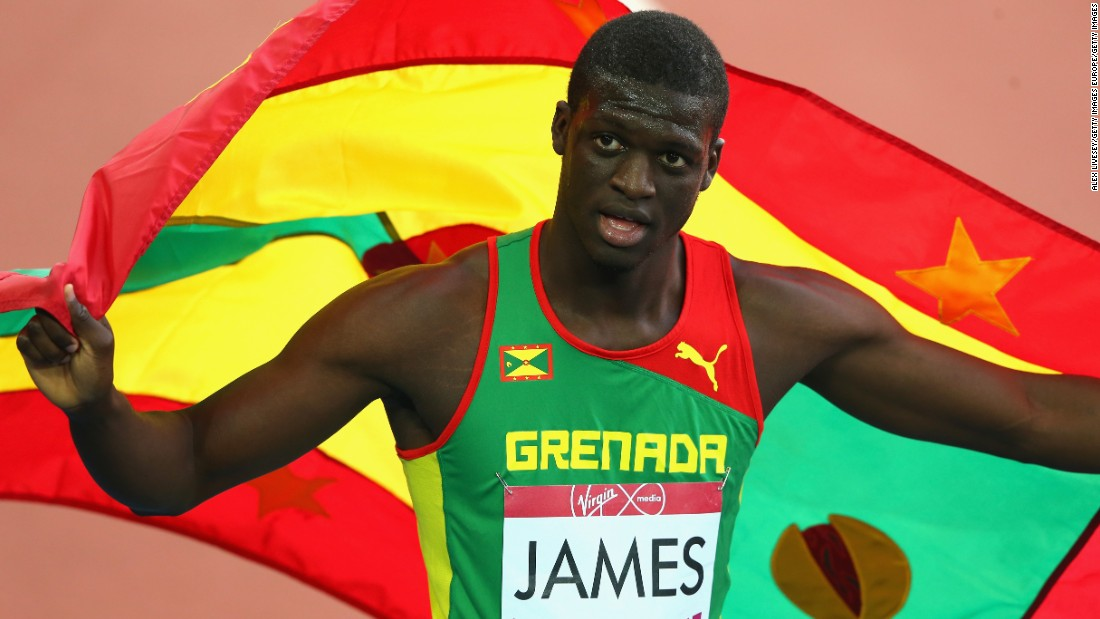 The London 2012 Olympic champion is his country's first and only Olympic medalist in any sport. Such is the prodigious 400m runner's stardom in his birthplace, the national football and athletics stadium has been renamed in his honor.