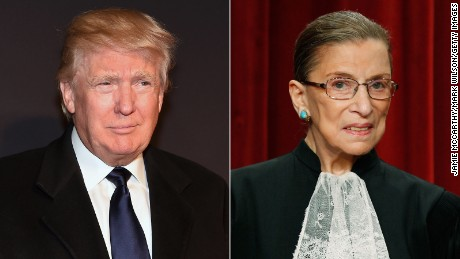 Ruth Bader Ginsburg, failed political pundit