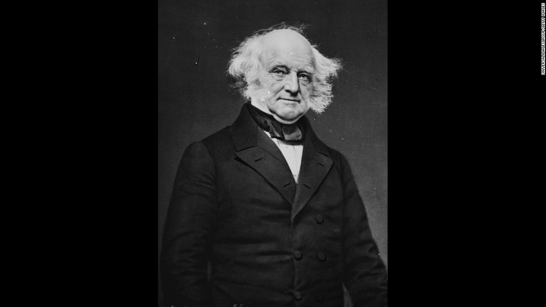 Van Buren, a native of New York and the first vice president born in the United States, served as both vice president and secretary of state to Andrew Jackson before becoming President himself in 1837.