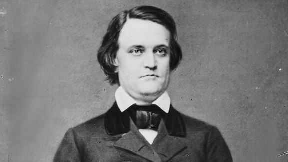 Breckenridge served in both houses of Congress and was elected vice president under James Buchanan. At 36 years old, he was the youngest ever to serve in that role. He returned to the Senate after Buchanan's single term, but he was expelled after joining the Confederacy (for which he served as secretary of war). He is the only vice president ever to be indicted for treason.