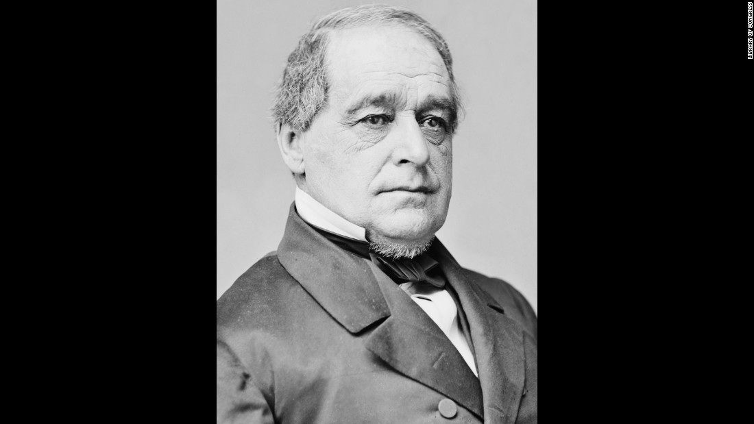 The first vice president of the Republican Party, Hamlin served as Abraham Lincoln's vice president during the Civil War. They did not meet until after the election. He had also been a senator and governor of Maine. When Lincoln ran for re-election, he was already focused on the need for Southern Reconstruction, so he selected Tennessean Andrew Johnson as a running mate instead of Hamlin.