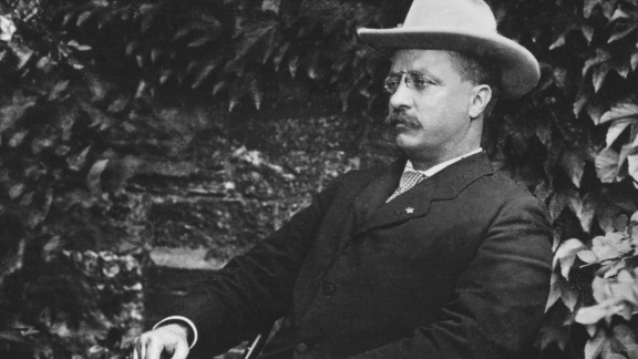 """""""I would a great deal rather be anything, say professor of history, than vice president,"""" Roosevelt said. The former New York governor, seen at right with President William McKinley, ended up serving just six months as vice president, assuming the presidency after McKinley was assassinated. Roosevelt was the youngest President in America's history. He would become known as a trust buster and conservationist, setting aside more than 200 million acres across the country as public lands for national forests and wildlife refuges."""
