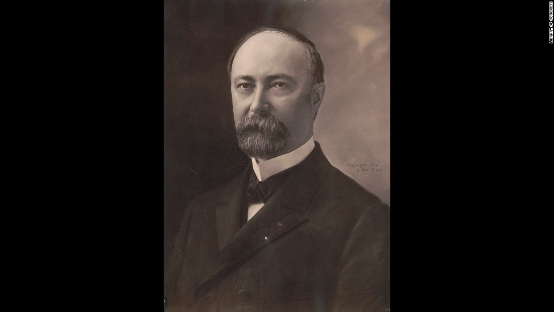 "Fairbanks grew up in a log cabin, worked briefly as a reporter, but prospered as a lawyer representing railroad interests. A friend of President William McKinley, Fairbanks was elected to the U.S. Senate. He was picked to be Theodore Roosevelt's running mate, but Roosevelt gave him a minimal role and stood in the way of his presidential ambitions. The Nation magazine wrote of Fairbanks, ""No public speaker can more quickly drive an audience to despair."" Fairbanks, Alaska, was named for him after he served on a Senate commission on Alaska affairs."