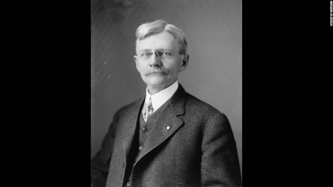 Marshall was vice president for two terms under President Woodrow Wilson. Previously governor of Indiana, Marshall assumed office a little more than a year before the outbreak of World War I.