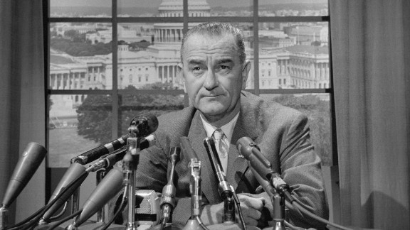 """Dubbed """"Master of the Senate"""" by his biographer  Robert Caro, Johnson served as whip, minority leader and majority leader. The Texan was John F. Kennedy's vice president when Kennedy was assassinated in Dallas in November 1963. As President, Johnson was best known as the architect of """"Great Society"""" programs to expand the government safety net and promote racial equality, but his presidency became mired in the nation's growing involvement in the Vietnam War. Johnson's vice presidency was notable for tensions with the Kennedys and his efforts to maximize his influence."""
