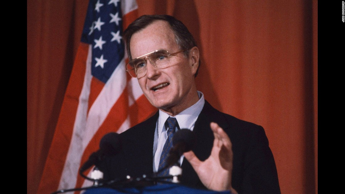 Bush was Ronald Reagan's vice president after serving as CIA director, U.S. ambassador to the United Nations and congressman from Texas.<strong> </strong>He became the first vice president to serve as acting President in 1985 while Reagan had colon surgery.