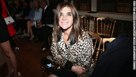 WOODSTOCK, ENGLAND - MAY 31:  Carine Roitfeld attends the Dior Cruise Collection show 2017 at Blenheim Palace on May 31, 2016 in Woodstock, England.  (Photo by Victor Boyko/Getty Images for Dior)