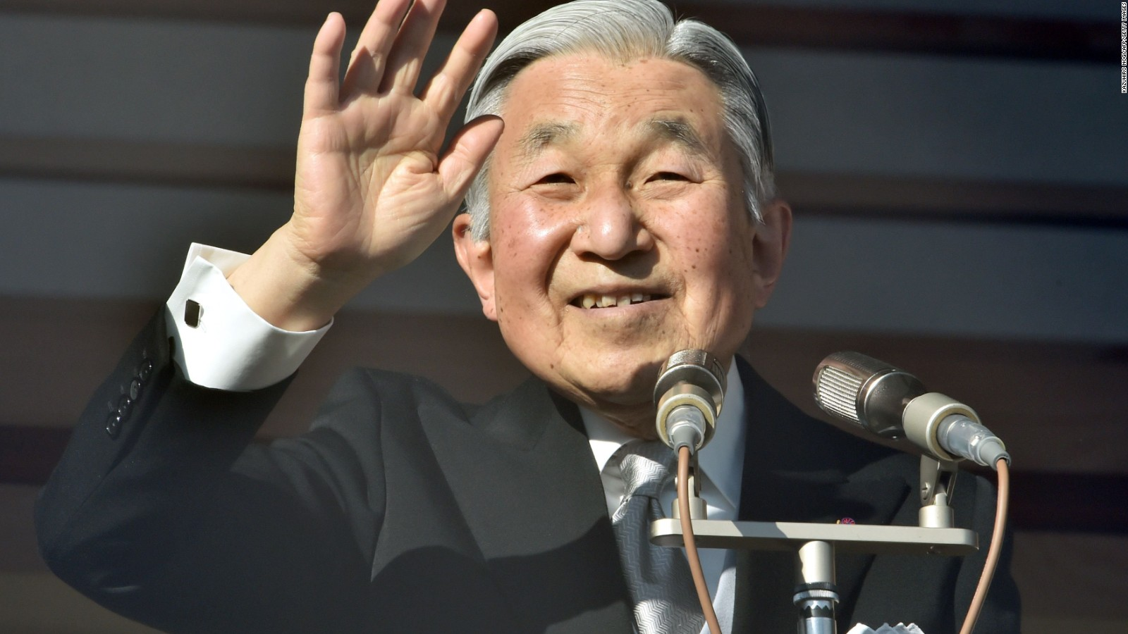 japan what happens if the emperor steps down cnn
