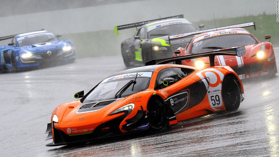 How Britain\'s McLaren conquered the world - CNN Style