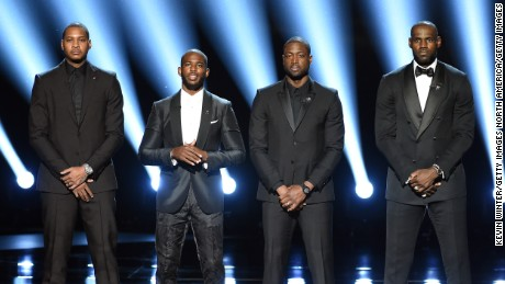 NBA stars plead for change during ESPYs opening