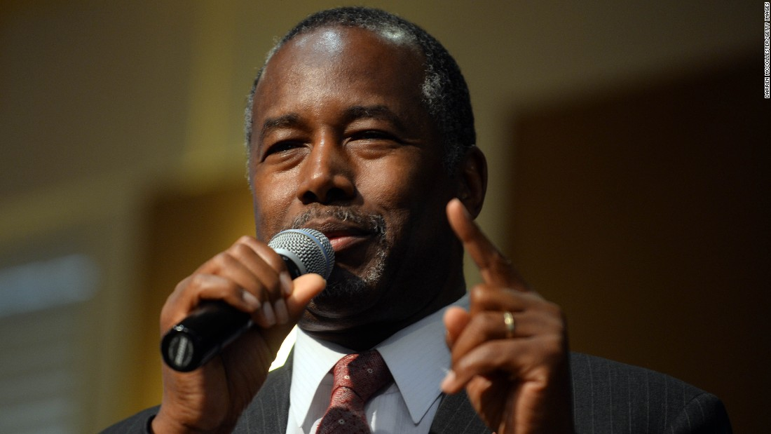 Ben Carson, who ran against Trump in the primary