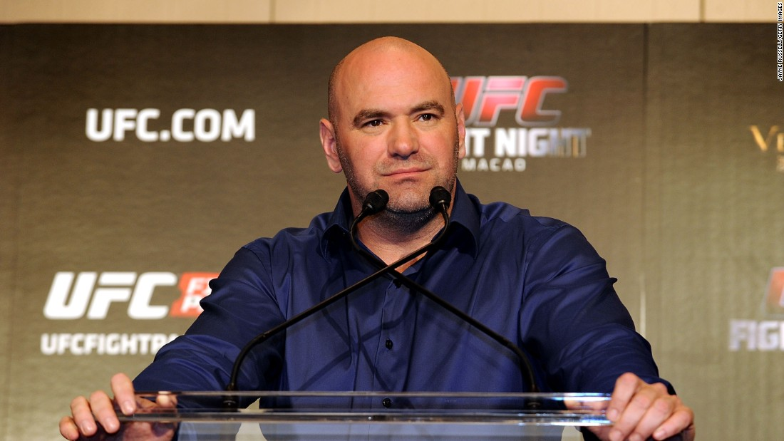 Ultimate Fighting Championship President Dana White