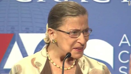 Why Ruth Bader Ginsburg regrets her Trump comments