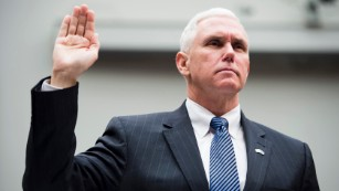 Mike Pence's political life and career