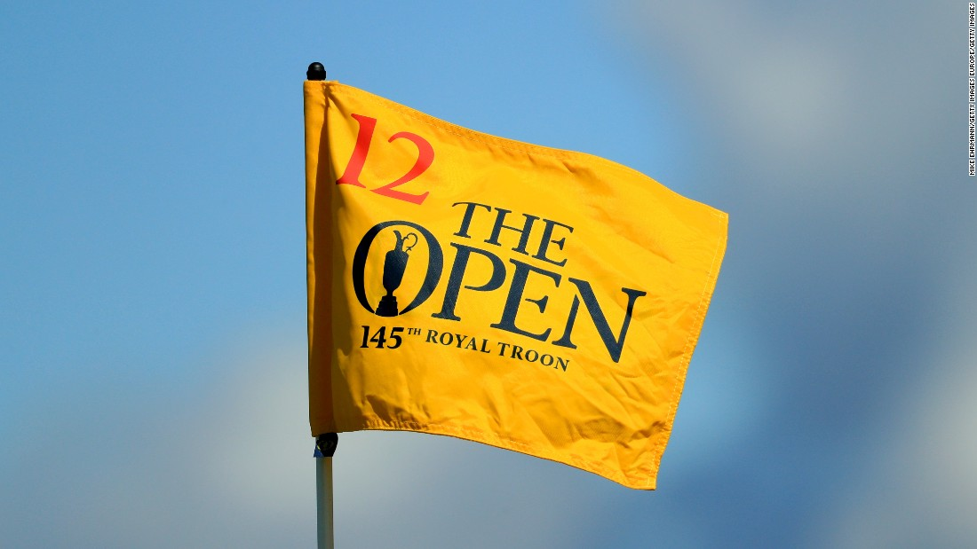 Glorious blue skies greeted the game's best golfers as the 145th edition of golf's oldest major started Thursday.